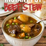 Super easy Instant Pot Beef Stew Recipe