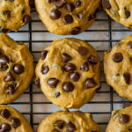 World's BEST Pumpkin Chocolate Chip Cookies