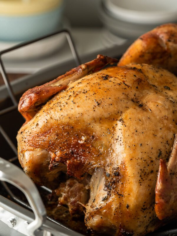 The Juiciest Turkey Breast recipe uses a dry brine and an unconventional cook method.