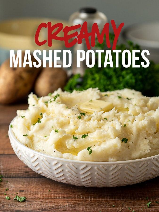 Ultra Creamy and Fluffy Mashed Potatoes Recipe
