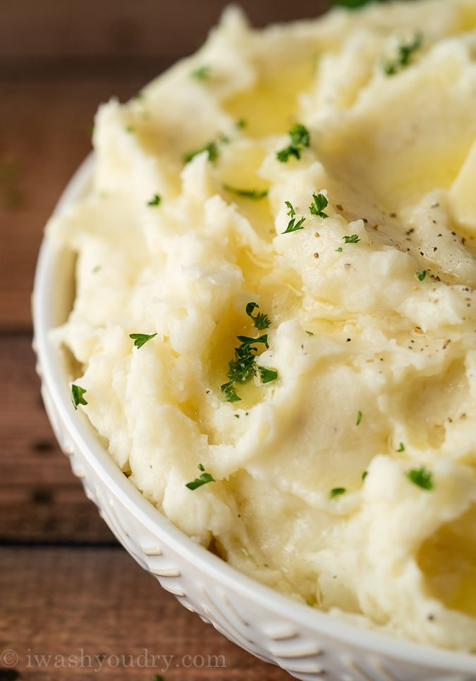Stovetop Creamy Mashed Potatoes