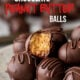 These delicious no-bake Chocolate Peanut Butter Balls are a quick and easy treat to make for the holidays!