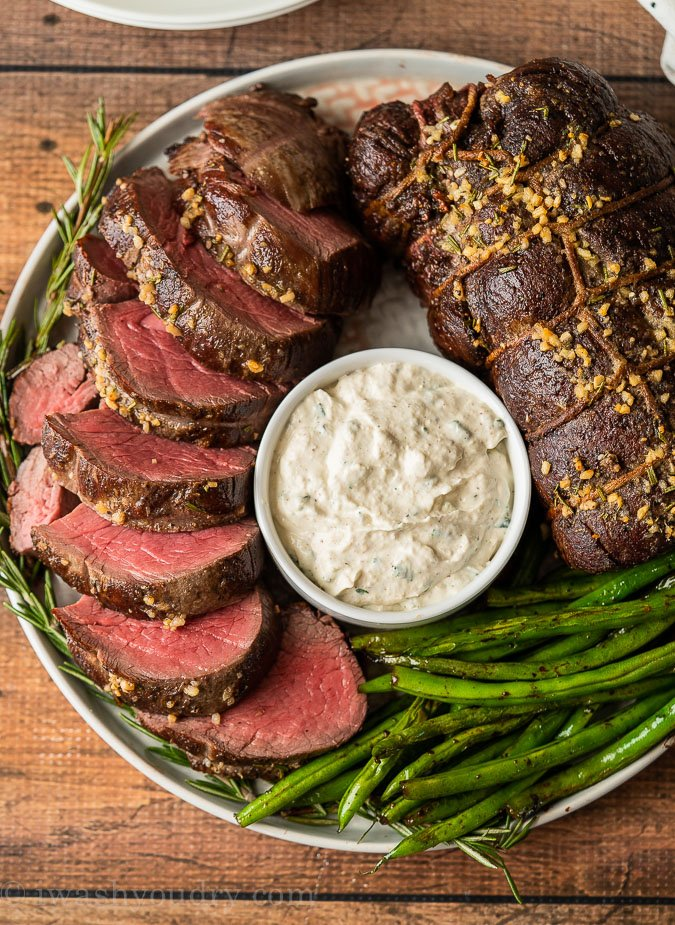 Juicy and tender beef tenderloin recipe