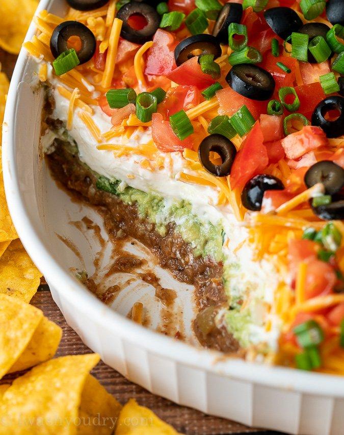 7 Layer Taco Dip Recipe