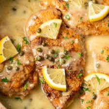 Chicken Piccata is an easy Italian meal that looks fancy, but is secretly easy to prepare.