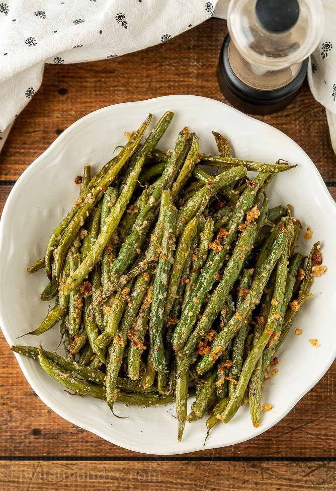 Easy Roasted Green Beans Recipe