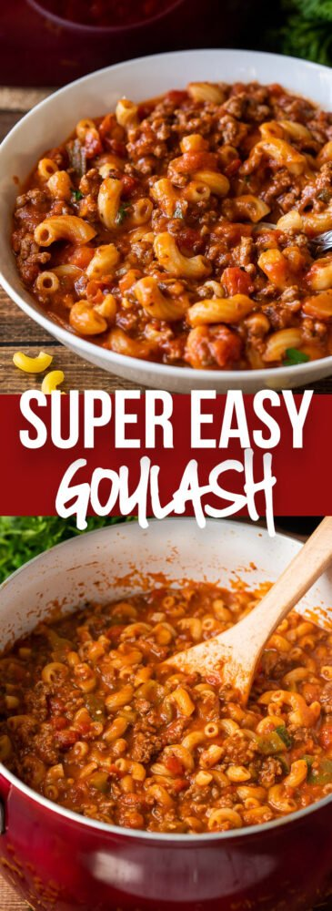 EASY American Goulash Recipe