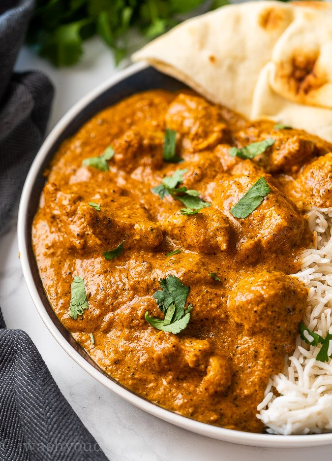 Indian Butter Chicken Recipe I Wash You Dry