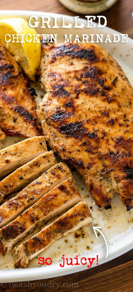 Juicy Grilled Chicken with Italian Marinade