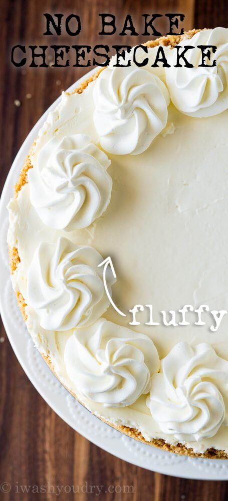 Fluffy No bake Cheesecake