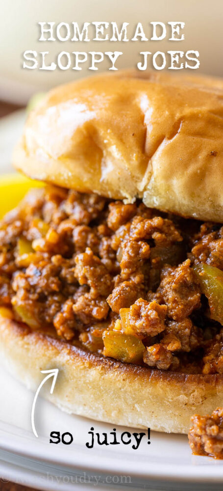 The perfect Sloppy joe Recipe - quick and easy!
