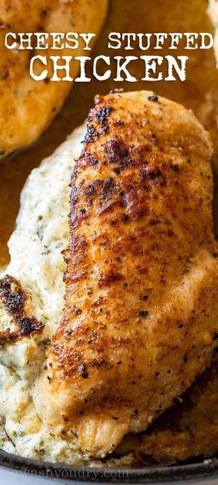 Spinach Stuffed Chicken Breast