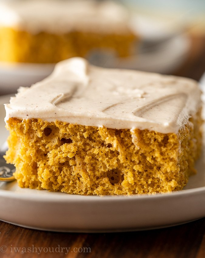 Pumpkin Sheet Cake Recipe I Wash You Dry