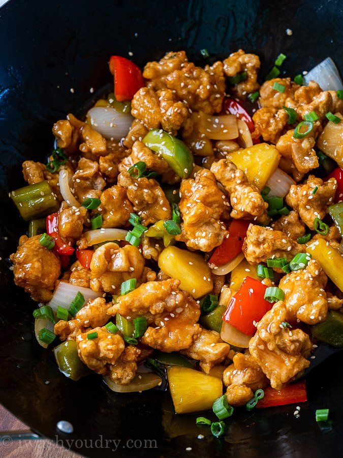 Sweet And Sour Chicken Recipe I Wash You Dry