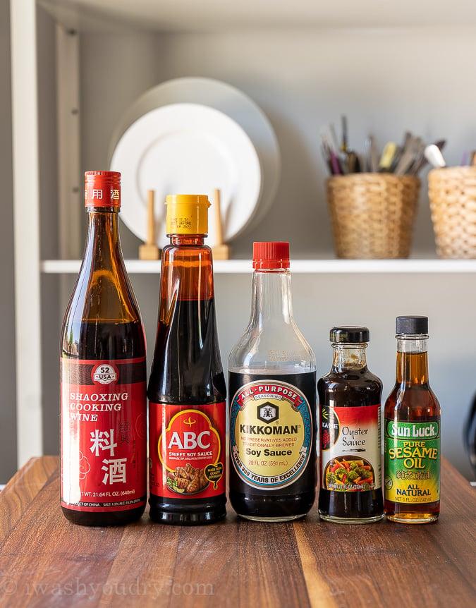 Lo Mein sauce ingredients