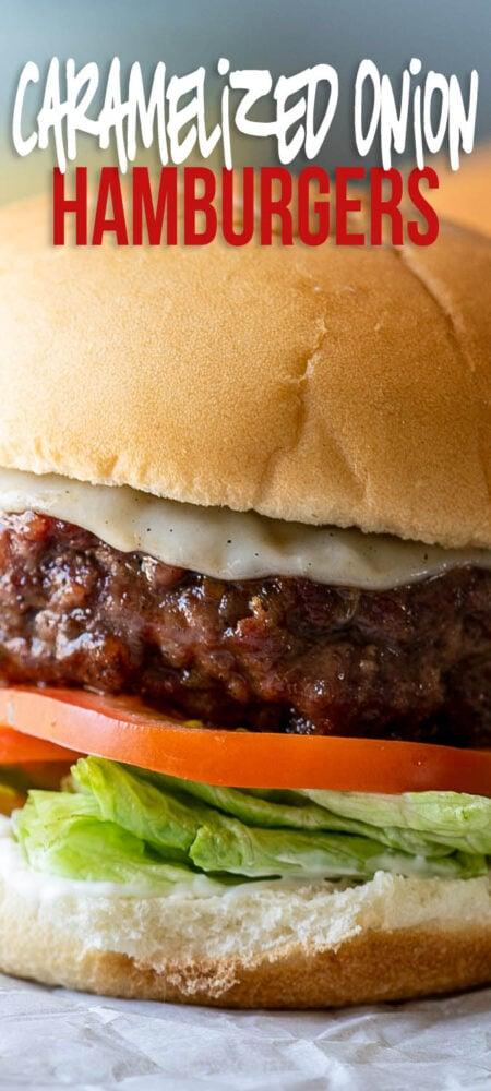 caramelized onion hamburger patty recipe